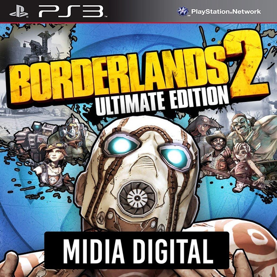 Ps3 - Borderlands 2 Ultimate Edition + Dlcs