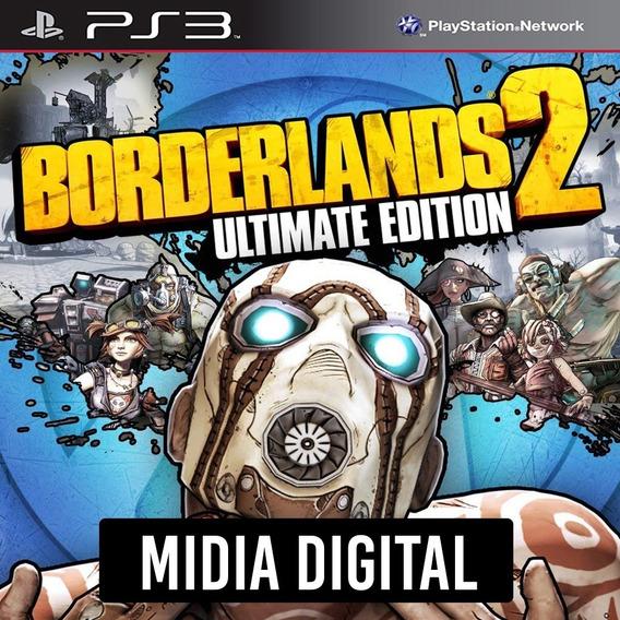 Borderlands 2 Ultimate Edition + Dlcs - Ps3