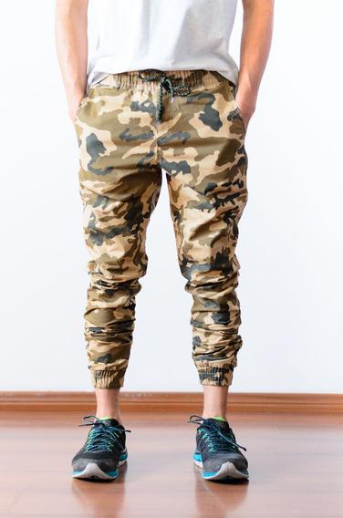 Kit 15 Calça Jogger Masculina Adulto Sarja Jeans Camuflada