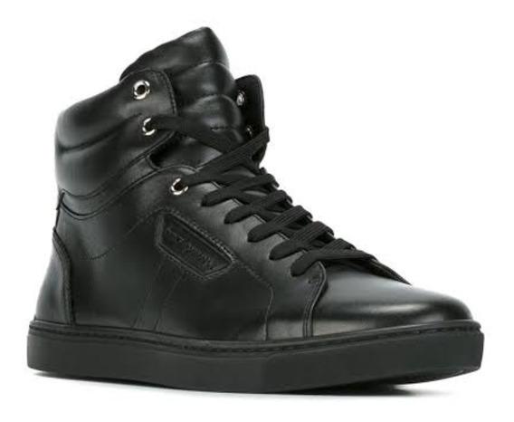 Sneakers Dolce & Gabbana, 100% Original En Color Negro