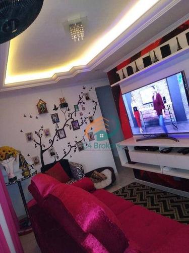 Apartamento Com 2 Dormitórios À Venda, 52 M² Por R$ 160.000,00 - Jardim Santo Expedito - Guarulhos/sp - Ap4124