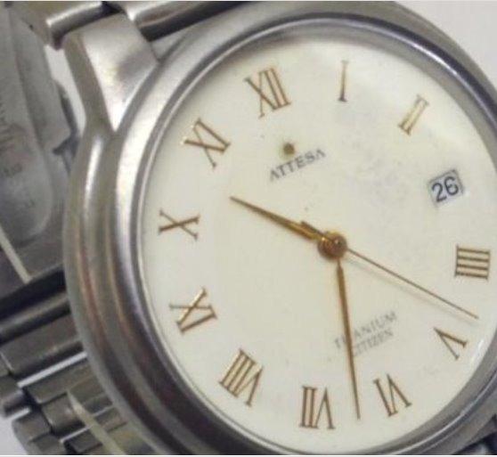 Relógio De Pulso Citizen Titanium T07352 Unissex Webclock