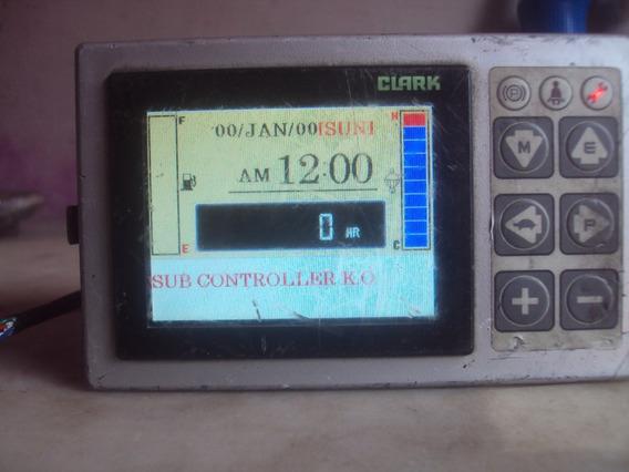 Display Clark C40/60 Usado Ligando Para Empilhadeira