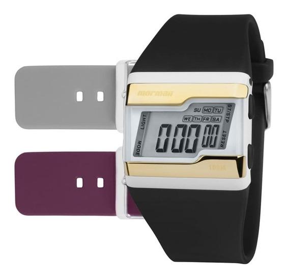 Relógio Mormaii Unissex Troca Pulseiras Fzw/t8d