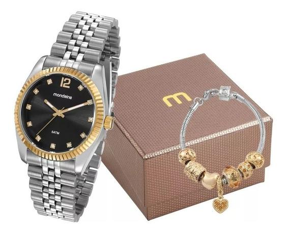 Relógio Mondaine Feminino Prata/dourado - 99175lpmvbs4k1