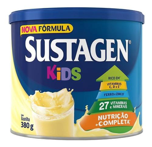 Complemento Alimentar Sustagen Kids Sabor Baunilha - Lata 38