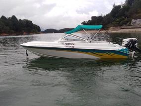 Bote Firpol Con Motor Evinrude 115 2 Tiempos