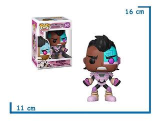 Funko Pop! 605 Cyborg Teen Titans Go - Candos Jugueteria