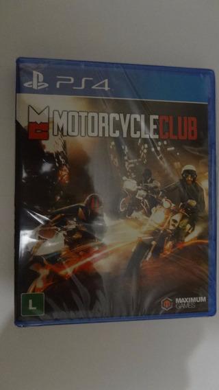 Motorcycleclub Ps4 Novo E Lacrado