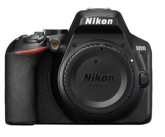 Câmera Nikon Dslr D3500 - Só Corpo + Nf E Garantia