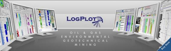 Logplot-software Log Plotagem Geotécnica,geofísica Mineracao