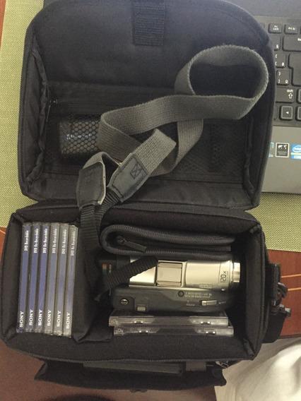 Filmadora Sony Handycam Em Mini Dvd
