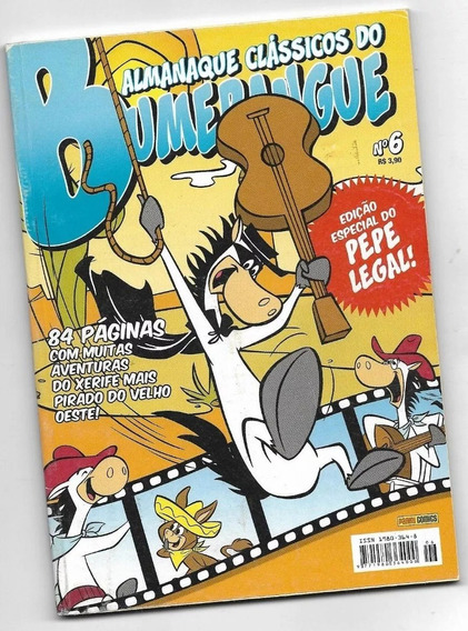 Almanaque Bumerague Nº 06- Pepe Legal Hb( Série Panini 2008)