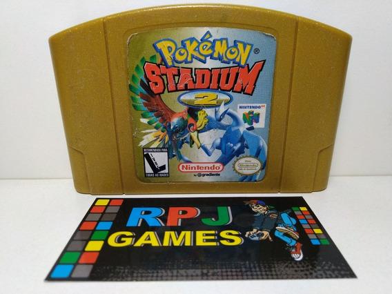 Pokemon Stadium 2 Original Salvando P/ Nintendo 64 N64 - &&
