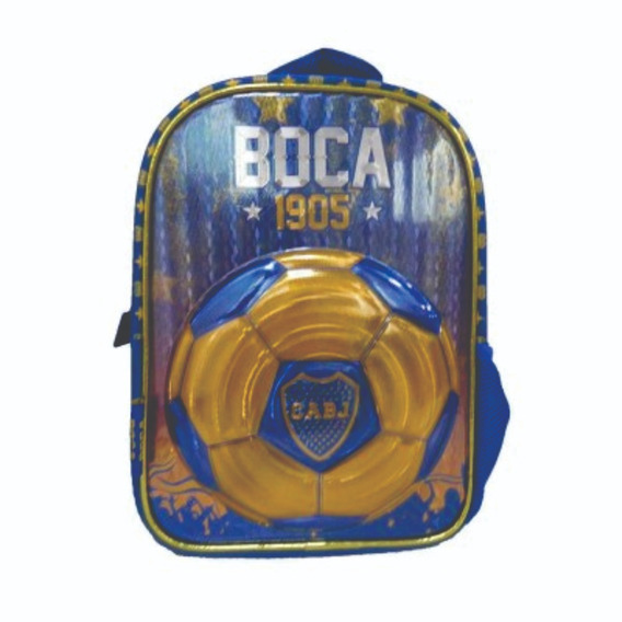 Mochila Jardín 12 Pulgadas Boca Juniors - Giro Didáctico