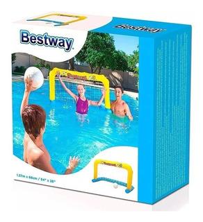 Arco De Futbol Para Pileta Water Polo Bestway 52123
