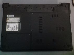 Carcaça Base Inferior Notebook Itautec W7535 Usado