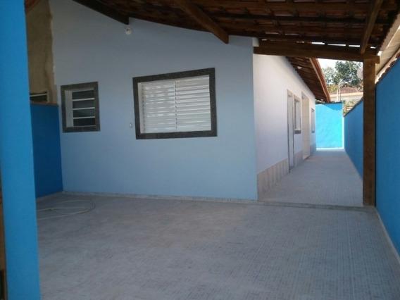 Casa Nova 2 Dorms - Garagem Coberta - Mongaguá - 1035
