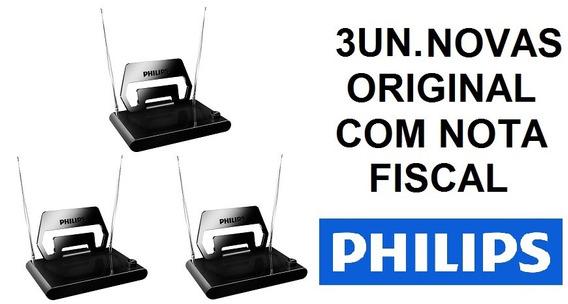 3un. Antena Passiva Tv Digital Philips Interna - Sdv1125t/55