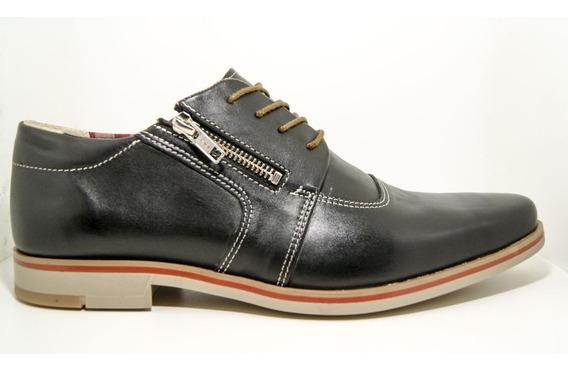 Zapato Acordonado Con Cierre Efesis - Efeefe12