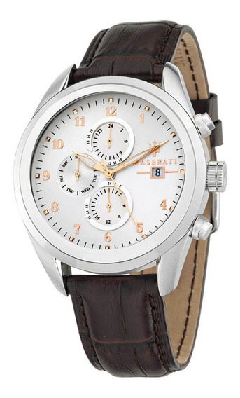 Reloj Maserati Traguardo Blanco Hombre R8871612003
