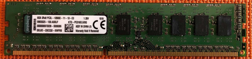 Memória 8gb 2rx8 Pc3l-12800e 1.35v Ddr3