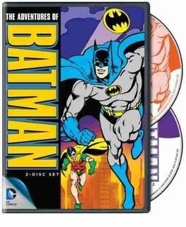 Dvd : - The Adventures Of Batman (full Frame, 2 Pack, ...