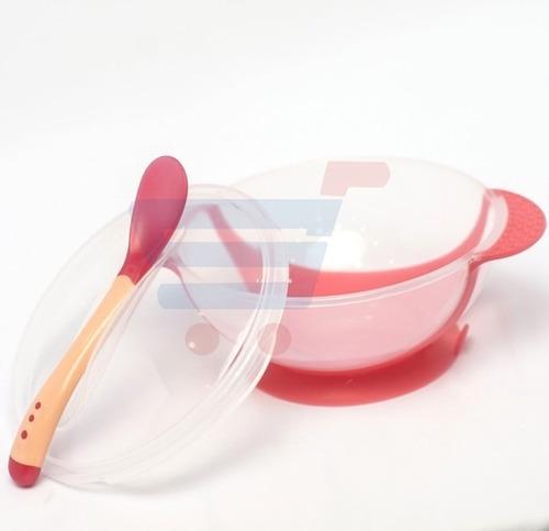 Set De Bowl Y Cuchara Para Bebe - Alimento - Cubiertos