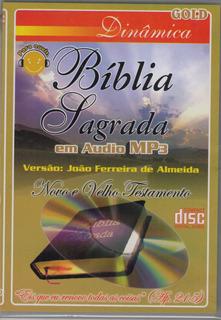 Bíblia Sagrada Em Áudio / Versão João Ferreira De Almeida