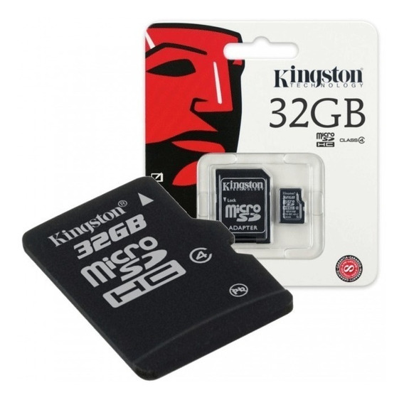 Memória Micro Sd 32gb Kingston Lacrado Ultrahd Classe 10