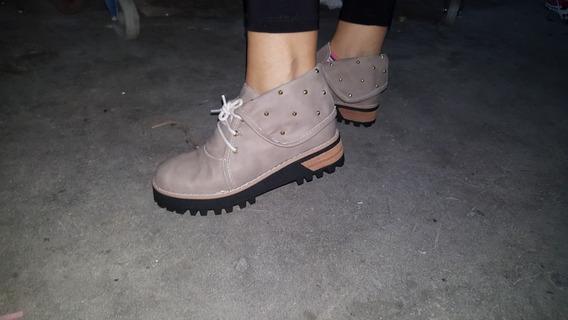 Zapatos 100 X 100 Cuero