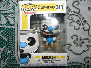 Funko Pop! Cuphead Mugman . Excelente!!