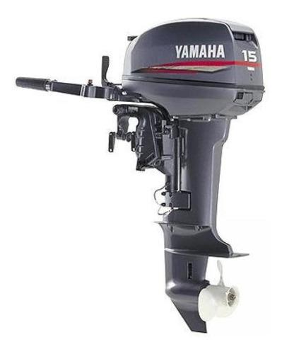 Yamaha 15 Hp Pata Larga 2 Tiempos Veleros Botes Caja Cerrada