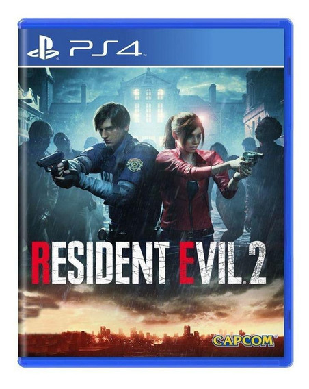 Resident Evil 2 Ps4 Mídia Física Pronta Entrega