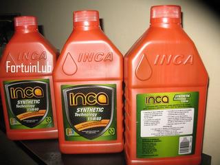 (4 Vrd) Aceite Semisintetico Sl 15w40 Inca Y 20w50 Inca (4vd