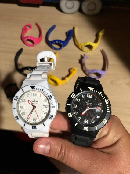 Relógio Champion Troca Pulseira