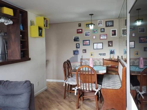Imagem 1 de 25 de Apartamento Com 2 Dormitórios À Venda, 46 M² Por R$ 225.000,00 - Parque São Vicente - Mauá/sp - Ap1207
