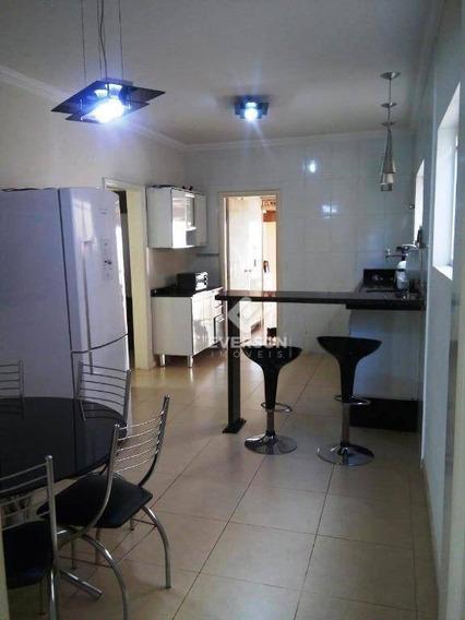 Casa Com 4 Dormitórios À Venda, 128 M² Por R$ 609.900 - Cidade Jardim- Rio Claro/sp - Ca0969
