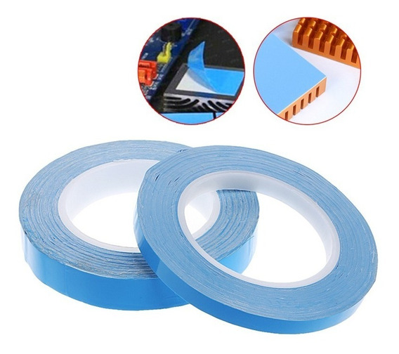 Rolo Fita Thermal Pad 25m 2cm 0,2mm Termico Adesivo Barraled