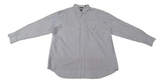 Camisa Chaps Talla Xl Hombre Original Elegante Fina Remate