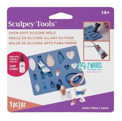 Molde De Silicona Sculpey Para Joyería (apto Para Horno)