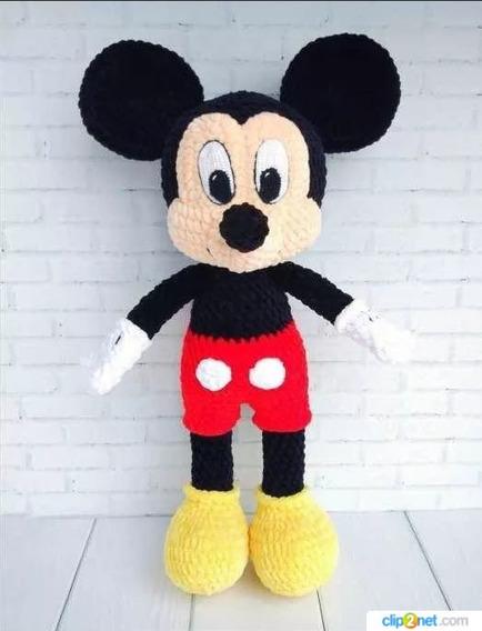 2 Patrones Minnie Mickey Amigurumis Crochet 1reg (ingl.)