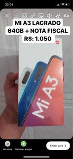 Xiaomi Mi A3 64 Gb Lacrado + Nota Fiscal