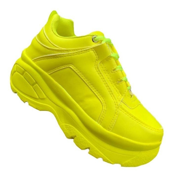 Tenis Sneakers Buffalo Chuncky Feminino + Brinde