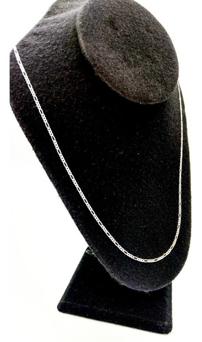 Imagen 1 de 8 de Cadena De Plata Fina .925 3*1 Unisex Hombre Mujer 70cm