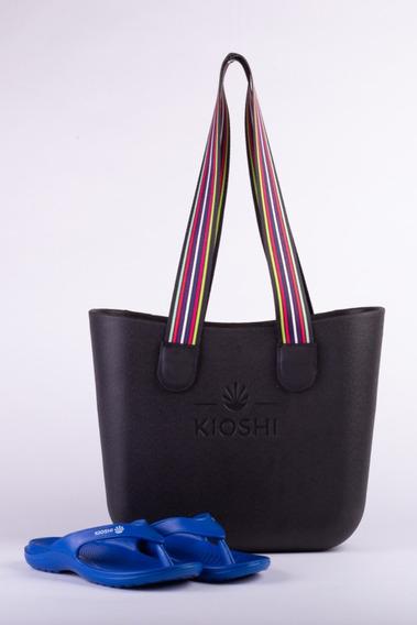 Bag Playero + Flips Flop Kioshi Blue