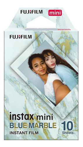 Rollo Film Fujifilm Instax Mini Blue Marble Entrega Cuotas