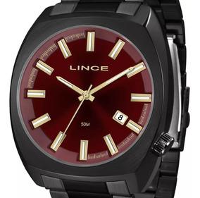 Relógio Lince Masculino Mrn4584s V1px Quadrado Original + Nf