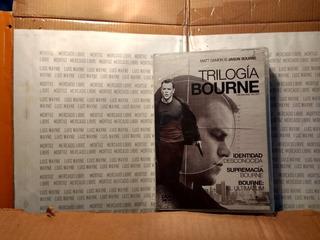 Trilogia Dvd Jason Bourne Matt Damon Físico Nueva Sellada