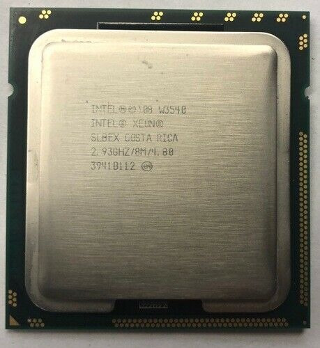 Intel Xeon W3540 Quad Core 2.93ghz/8mb/4.8 Gt/s/lga1366